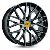 MAM RS4 schwarz front poliert