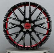 MAM RS4 schwarz lackiert red inside - Sonderserie