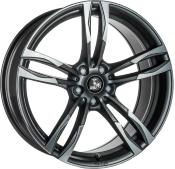 Ultra Wheels UA11 Gunmetall Front poliert