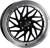 Ultra Wheels UA14 - Spin - Schwarz Poliert