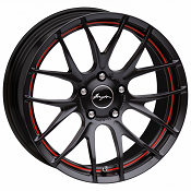 Breyton GTS-R Matt Black Red undercut