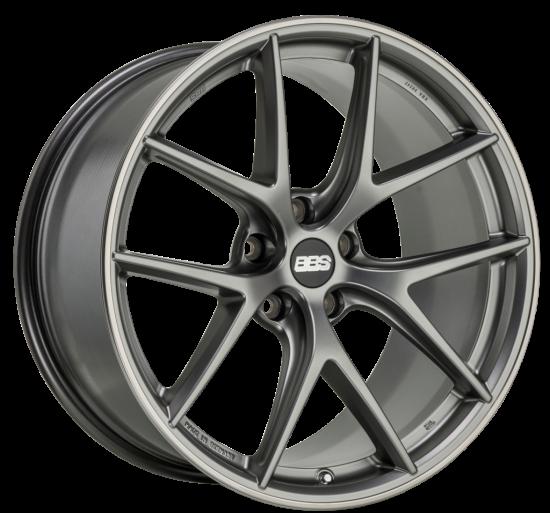 BBS CI-R 8x19 Platinum Silber