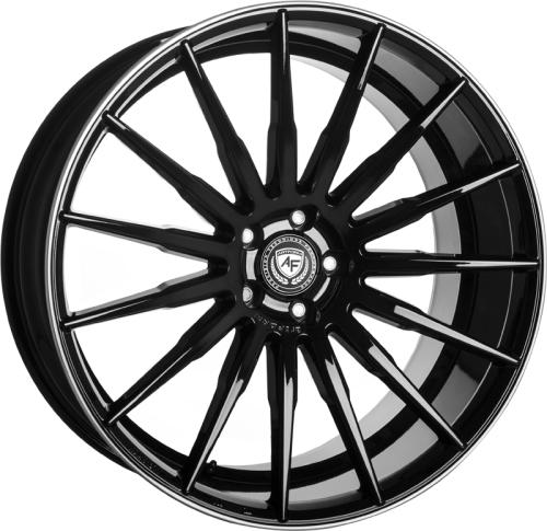 artFORM AF401 11x23 Black rim polished