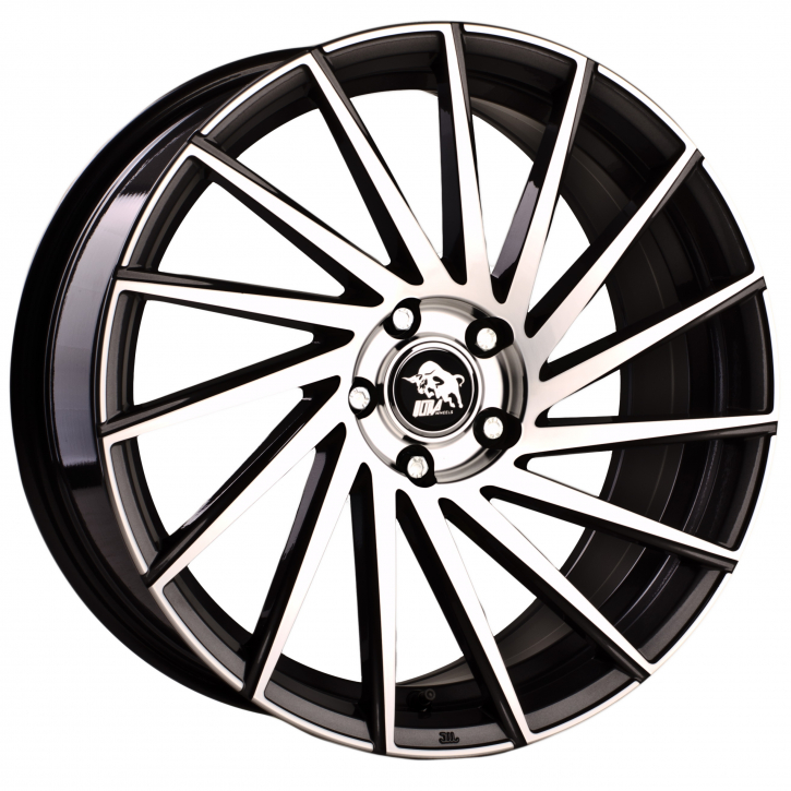 Ultra Wheels UA9 8,5x19 Gunmetal Front poliert Links