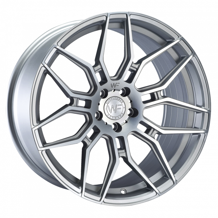 Wheelforce CF.2-FF 8,5x20 Frozen Crystal Silver