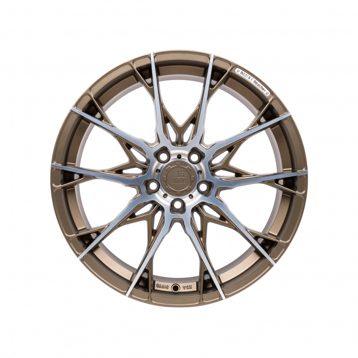 B52 Wheels X1 Reacher 8,5x19 Bronze matt full machined