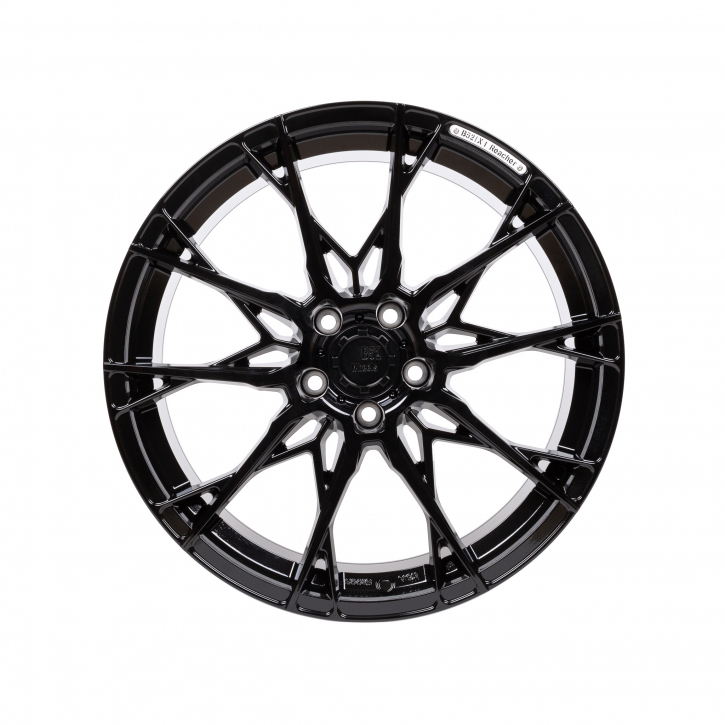 B52 Wheels X1 Reacher 8,5x19 Night Black Glossy Painted