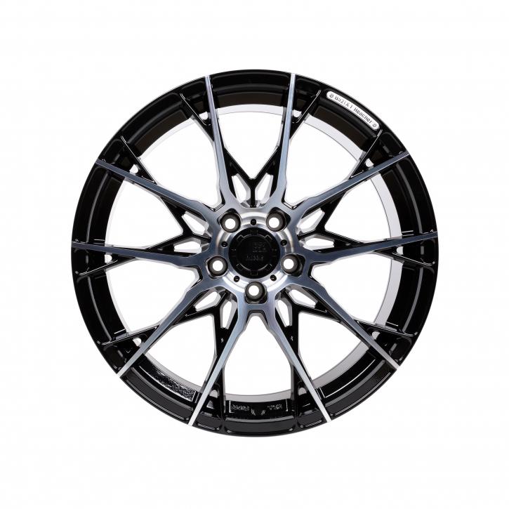 B52 Wheels X1 Reacher 8,5x19 Nacht Schwarz Hochglanzpoliert