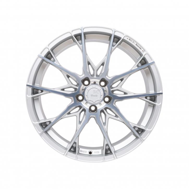 B52 Wheels X1 Reacher 8,5x19 Reflective Silber Hochglanzpoliert
