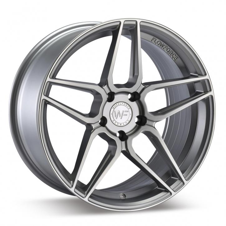 Wheelforce CF.1-RS 9,5x19 5x120 ET40 Frozen Silver