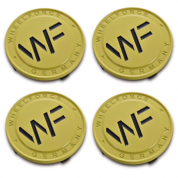 WF FORGED CAP - YELLOW