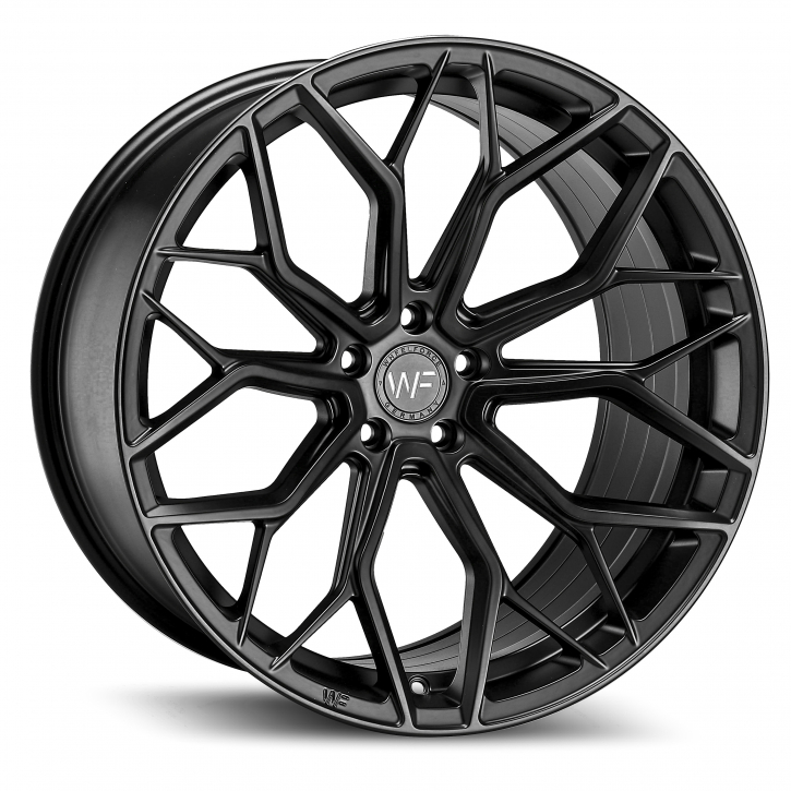Wheelforce HE.1-FF 10x21 5x112 ET22 Deep Black