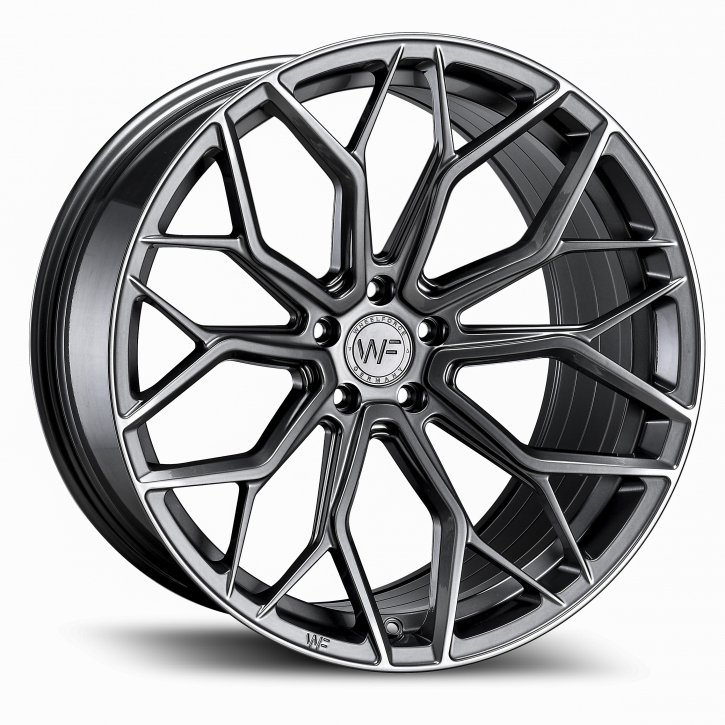 Wheelforce HE.1-FF 10x21 5x112 ET22 Gloss Steel