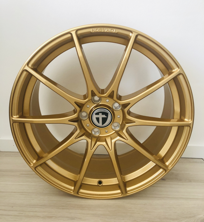 Tomason TN25 8,5x19 5x112 ET45 Gold glanz