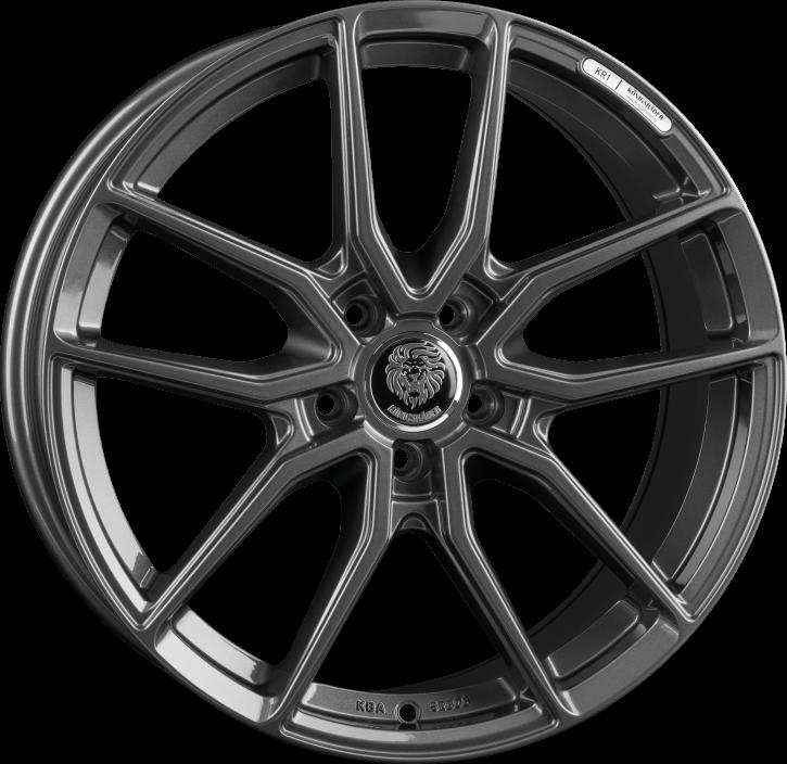 Königsräder KR1 7x16 Grey Glossy