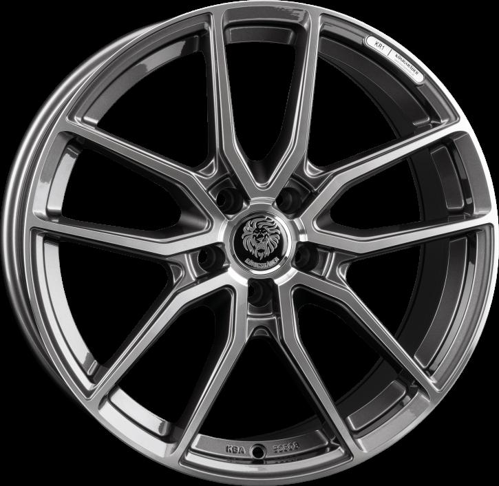 Königsräder KR1 8x18 Grey polished