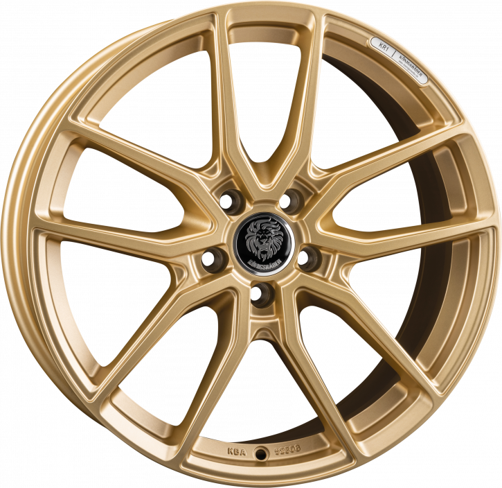 Königsräder KR1 8x18 Gold matt
