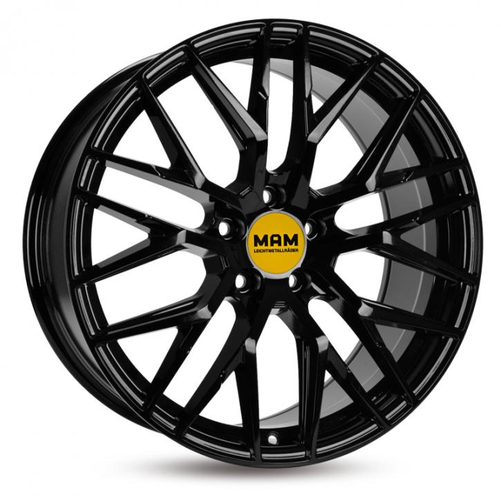 MAM RS4 8,5x19 schwarz lackiert