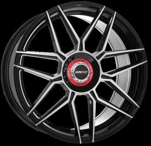 Motec GT.one 8,5x19 LK5x112 ET45 schwarz poliert