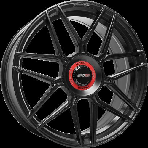 Motec GT.one 8,5x19 Schwarz matt