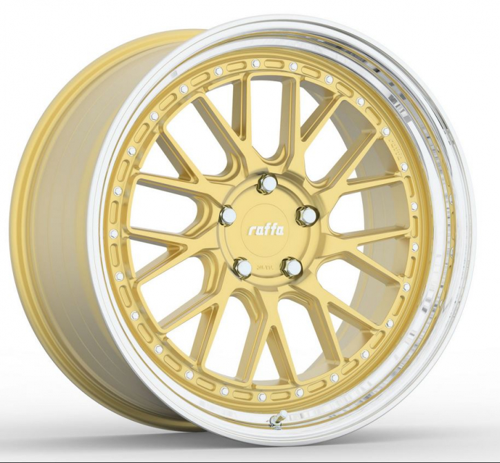 RAFFA WHEELS RS-03 8,5x19 GOLD POLISHED 5x112 ET45
