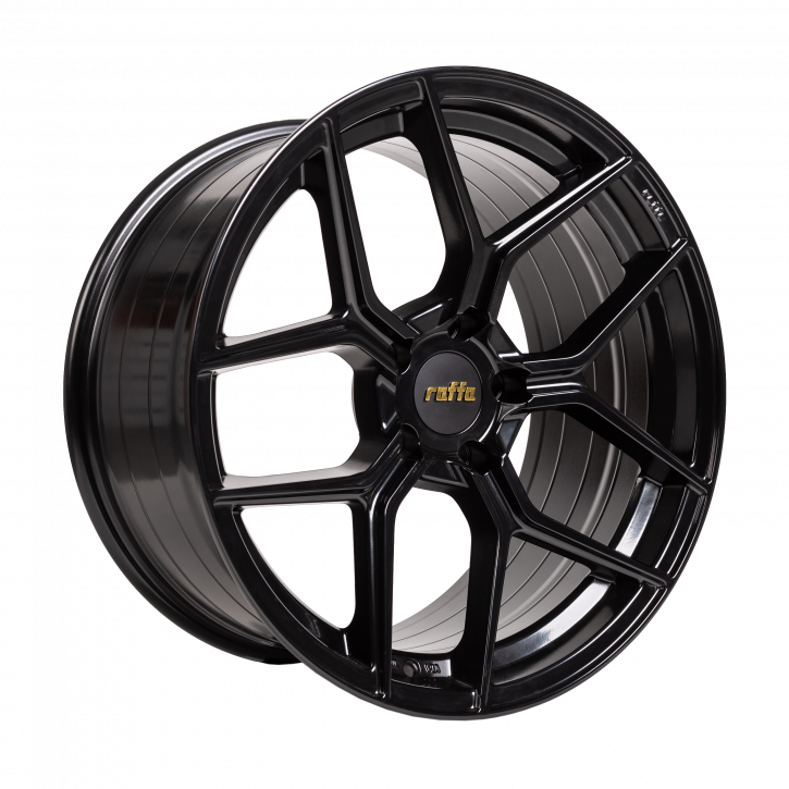 RAFFA WHEELS RS-01 Glossy black 9,5x19