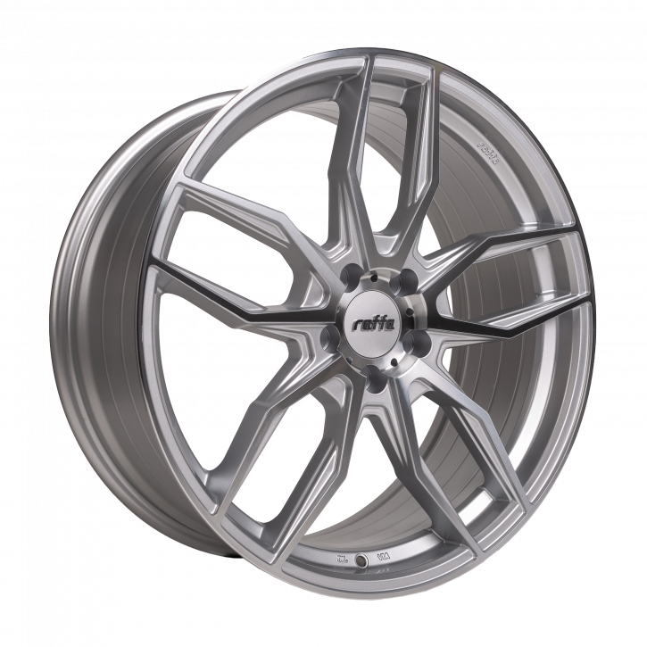 RAFFA WHEELS RS-04 8,5x19 SILVER POLISHED