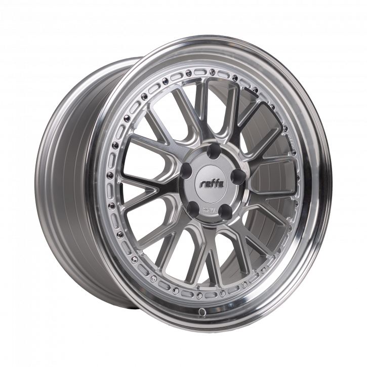 RAFFA WHEELS RS-03 8,5x19 SILVER POLISHED