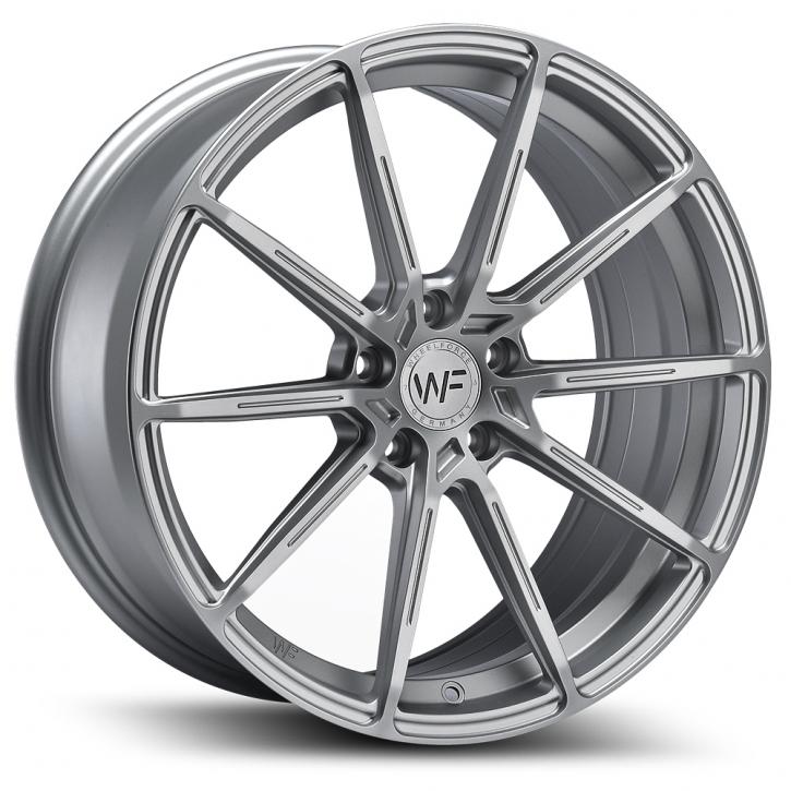 Wheelforce SL.2-FF 8,5x19 Frozen Silver