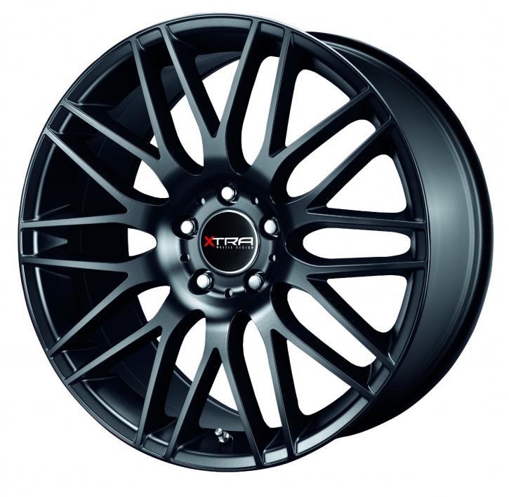 Xtra Wheels SW2 8,5x19 LK5x112 ET45 schwarz matt