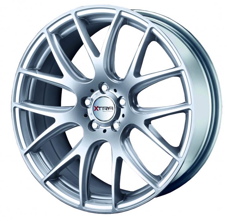Xtra Wheels SW5 8,5x20 LK5x112 ET35 hyper silber