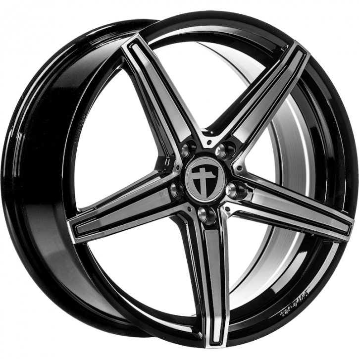 Tomason TN20 8x18 dark hyperblack polished