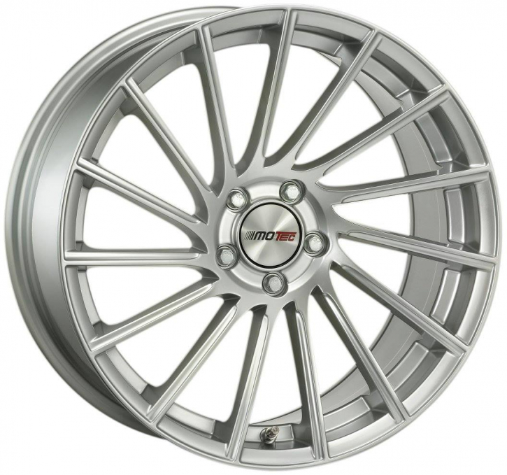 Motec Tornado High gloss Silber 8,5x19