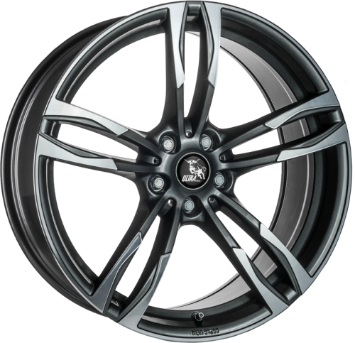 Ultra Wheels UA11 8x18 Gunmetall poliert