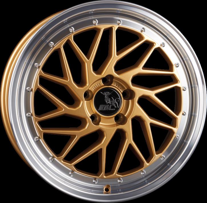 Ultra Wheels UA14 8,5x19 Gold Poliert