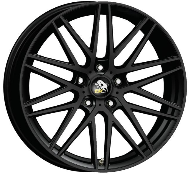 Ultra Wheels UA1 8x17 Schwarz matt