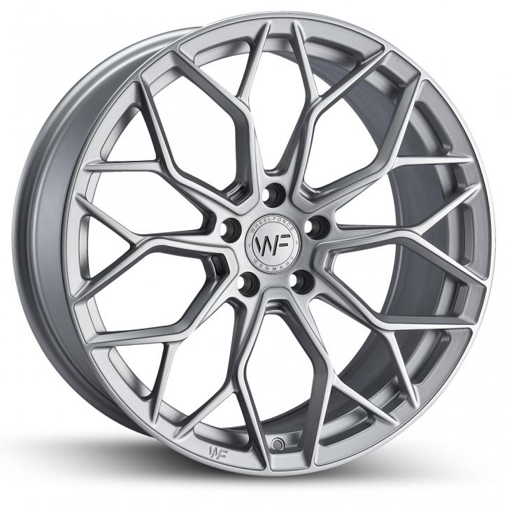 Wheelforce SL.1-FF 8,5x19 Frozen Silver