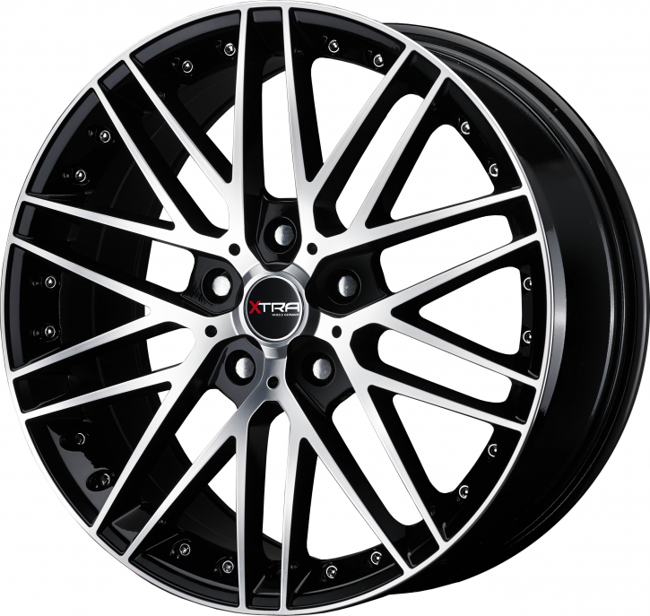 Xtra Wheels SW1 8x18 LK5x120 ET35 schwarz voll poliert