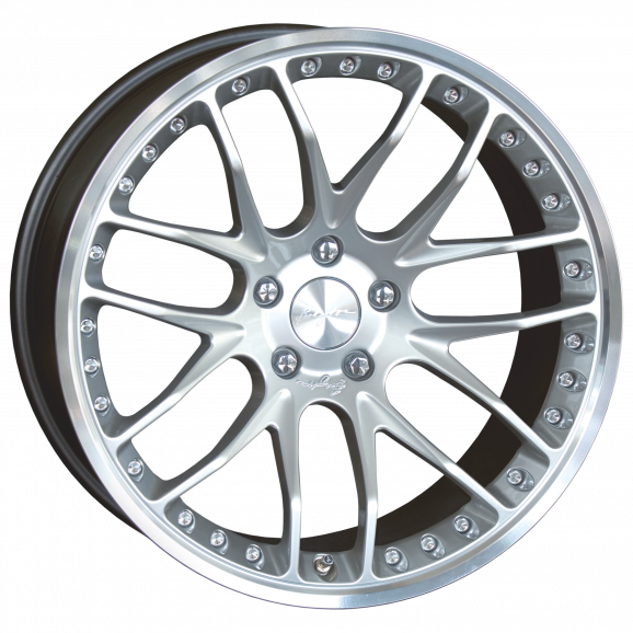 Breyton GTP 8,5x19 Hyper Silver
