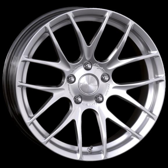 Breyton GTS-R 7x17 Hyper Silver