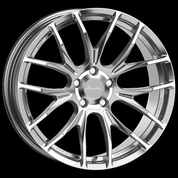 Breyton GTS 2 8,5x19 Hyper Silver