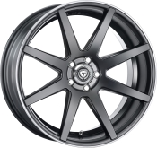 artFORM AF302 Flat black rim polished