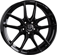 Königsräder KR1 Black Glossy