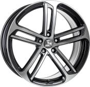 Ultra Wheels UA10 Gunmetal Front poliert