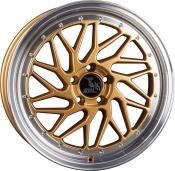 Ultra Wheels UA14 - Spin - Gold Poliert