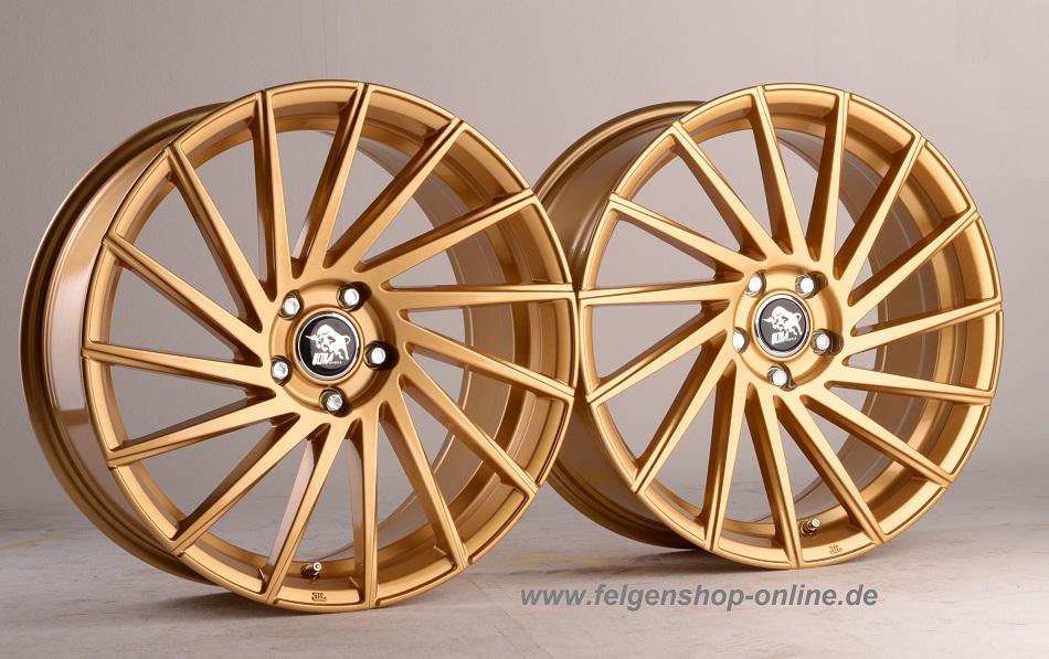 ultra wheels ua9 8x18 gold rechts 5x108 et47. Black Bedroom Furniture Sets. Home Design Ideas