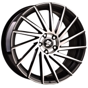 Ultra Wheels UA9 Gunmetal Front poliert