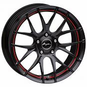 Breyton GTS-R Matt Black Red undercut