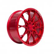 B52 Wheels X1 Reacher 8,5x19 Candyrot Hochglanzpoliert 5x112 ET35
