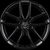 Königsräder KR1 8x18 Black Glossy 5x112 ET35